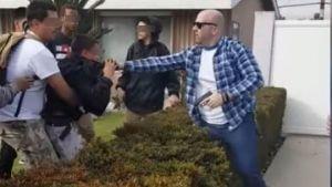 Protestan por video de agresión policial