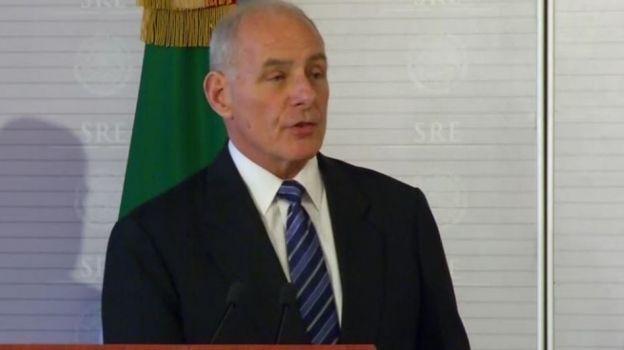 No habrá deportaciones masivas ni usaremos al Ejército, afirma John Kelly