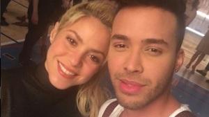 ¡Prince Royce revela desde Premios Lo Nuestro que grabó video con Shakira!