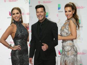 FOTOS: Mejores y Peores Vestidos de Premio Lo Nuestro 2017 thalia prince royce