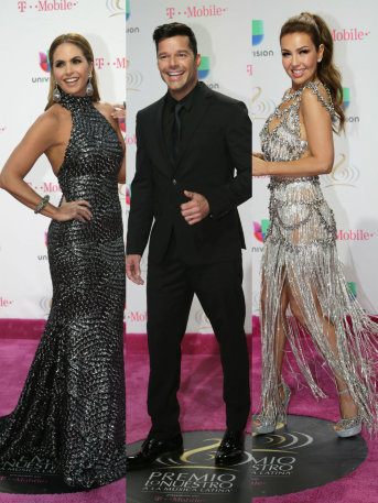 Checa a Thalía en Los Mejores y Peores Vestidos de Premio Lo Nuestro 2017