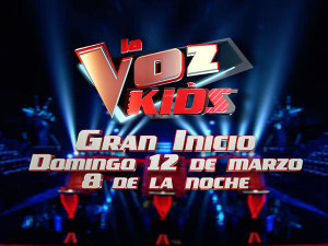 ¡Gran estreno de La Voz Kids! No te lo puedes perder
