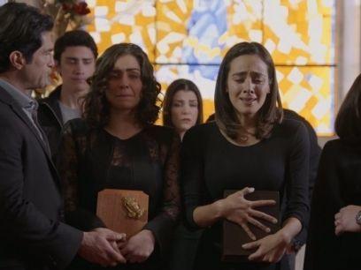 Así fue el funeral de los padres de Fabiola