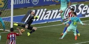 Messi da mucha vida al Barça. Atlético de Madrid 1-2 Barcelona