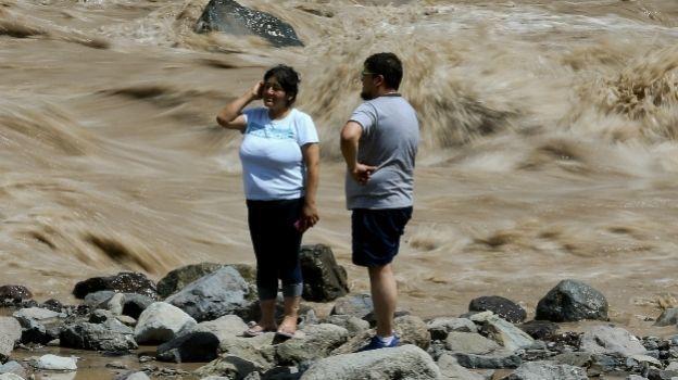 Un muerto y varios desaparecidos por aluviones en Chile