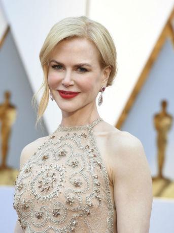¡Vaya manera de aplaudir!, la de Nicole Kidman durante los Premios Oscar