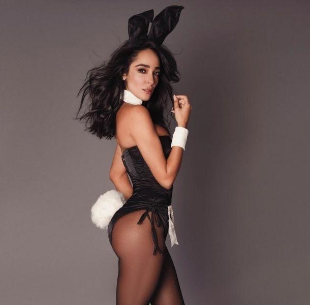 Manelyk mostró sus encantos al desnudo para Playboy México