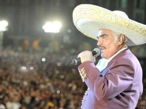 Vicente Fernández pasa por graves problemas de salud (foto + video)