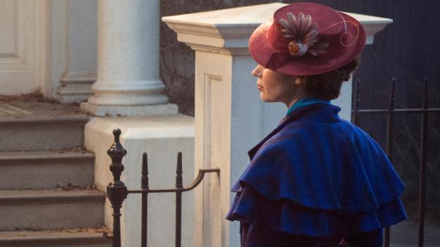 El rodaje del filme 'Mary Poppins Returns' en imágenes