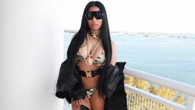 ¡Nos mintió! Así luce realmente el trasero de Nicki Minaj (FOTOS)