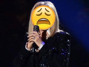 Famosa cantante culpa a Donald Trump por ¡subir de peso!