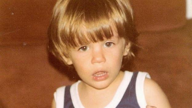 Mark Tacher era un niño muy travieso