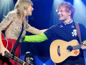 ¡Ed Sheeran revela la fecha de lanzamiento del disco de Taylor Swift!
