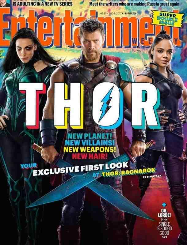 Primer vistazo oficial de la película 'Thor: Ragnarok'