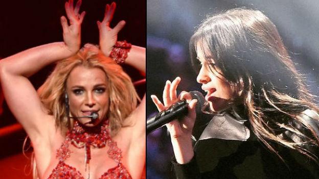 ¡La desplaza! Camila Cabello le quiere quitar el trono a Britney Spears
