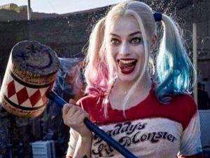 Revelan nueva imagen de Harley Quinn en Escuadrón Suicida... ¡vestida de novia!