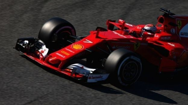 Ferrari obtiene resultados mixtos en la P1 del GP de Rusia; Raikkonen lidera y Vettel trompea sobre el final, Mercedes hace el 2-3