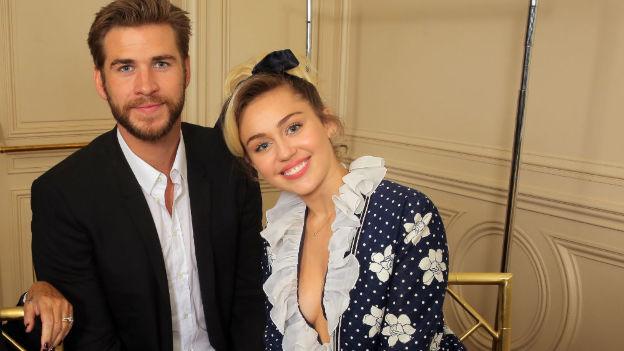 Miley Cyrus y Liam Hemsworth reanudaron su romance y están felices