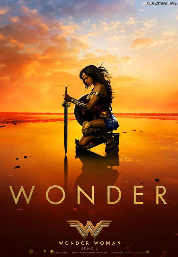Póster de Mujer Maravilla (Warner Bros.)