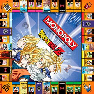 Así lucirá el Monopoly de Dragon Ball Z