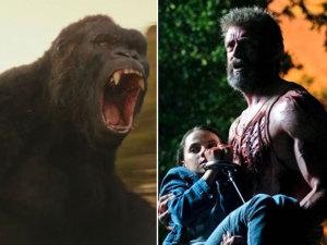Kong golpea a Logan y se convierte en el rey absoluto de taquilla