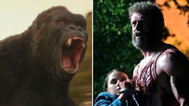 King Kong desbanca a 'Logan' en taquilla