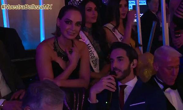 BACKSTAGE: ¡Lupita Jones en entrevista exclusiva desde el certamen de Nuestra Belleza México 2017!