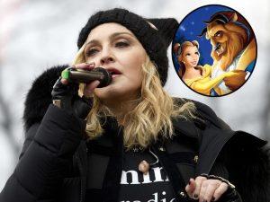 Madonna luce irreconocible como 'La Bella y la Bestia' (FOTOS)