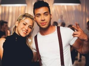 Prince Royce habla sobre el sexy movimiento de Shakira en 'Deja Vu'