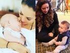 ¡Sensuales y hermosas! Famosas presume sus cuerpos tras embarazos