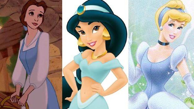 ¿Por qué las Princesas Disney utilizan mucho el color azul?