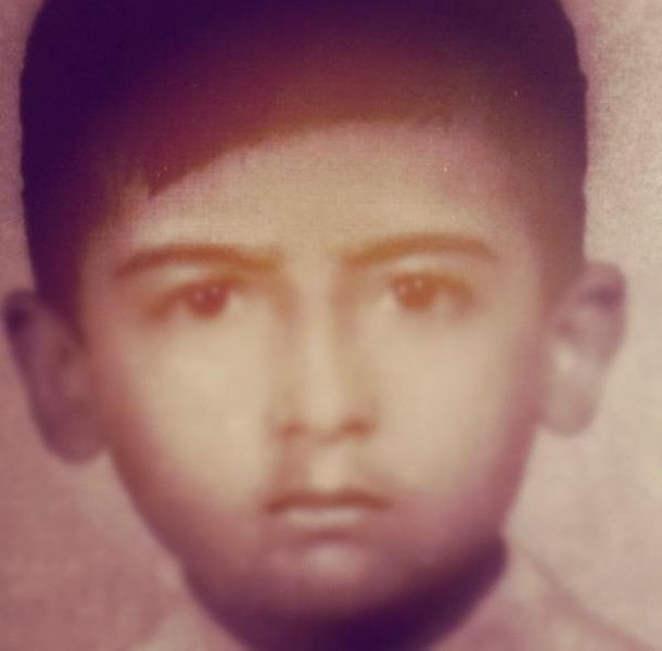 Adal Ramones era un niño muy travieso