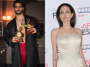 Qué relación hay entre... Maluma y Angelina Jolie