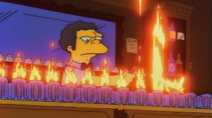 VIDEO: Así se prepara la llamarada Moe de Los Simpson