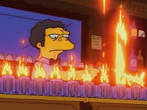 VIDEO: Así se prepara la 'llamarada Moe' de 'Los Simpson'