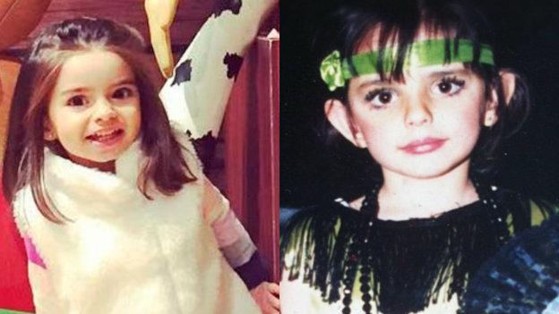 Aislinn y Aitana Derbez son idénticas, aquí la muestra