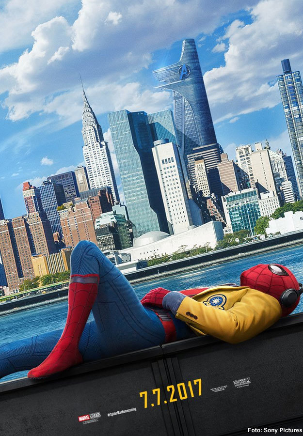 Spider-Man: Homecoming presenta nuevo póster