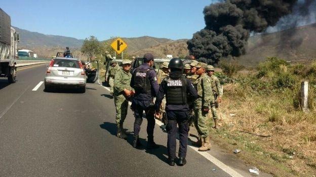 Se registra explosión en poliducto de Nogales, Veracruz