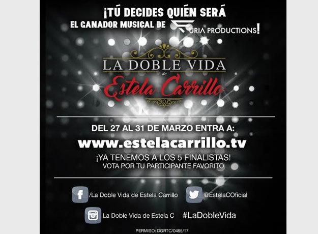 Participa y decide quién será la próxima estrella musical de Furia Productions... ¡Igual que Estela Carrillo!