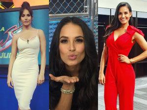 ¡Gina Holguín, la morena más sensual y espectacular de la televisión!