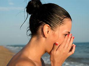 Menstruación en la playa: ¿qué opciones hay?
