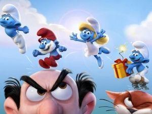Censuran póster de 'Los Pitufos 3'... ¡por culpa de 'Pitufina'! (FOTO)
