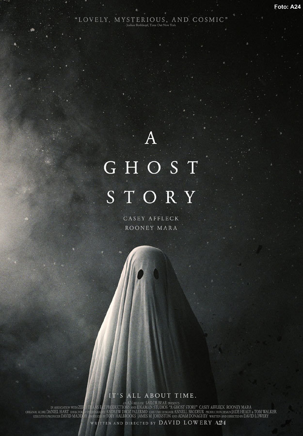 A Ghost Story es una película protagonizada por Casey Affleck y Rooney Mara
