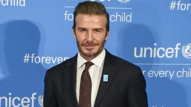 ¡OMG! David Beckham aparece con el rostro completamente desfigurado (FOTO)