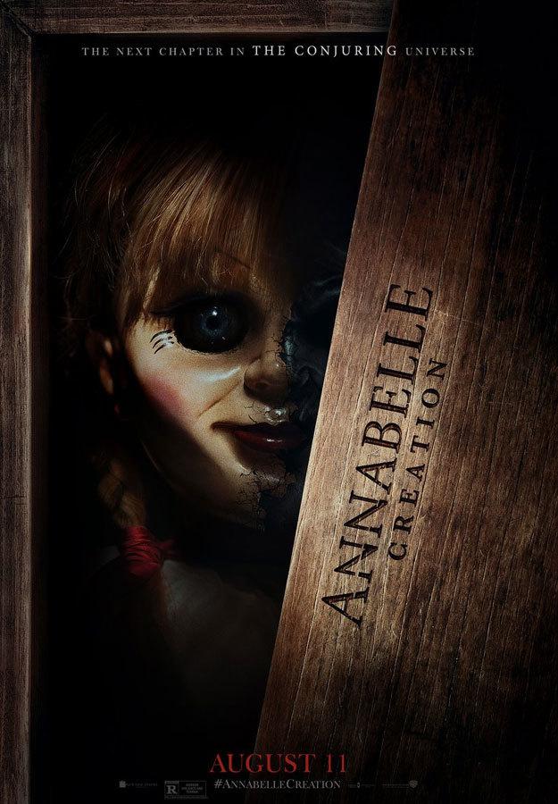 El terrorífico póster de Annabelle 2: La Creación