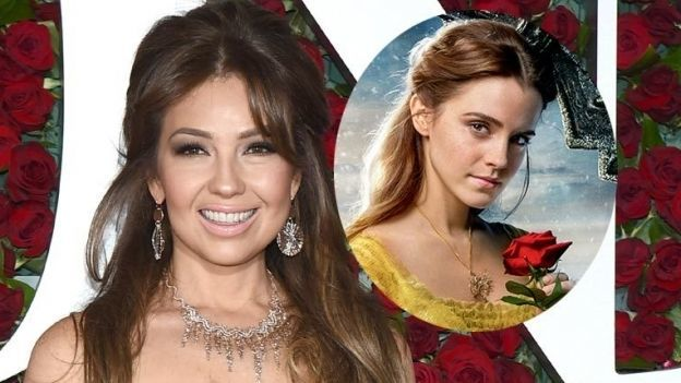 ¡Como de cuento de hadas! Thalía se convierte en 'Bella' (FOTO)