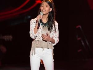 Hija de Omar Chaparro demuestra talento y entra a La Voz Kids