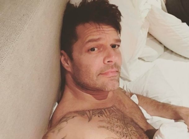 Ricky Martin negó video sexual con Maluma