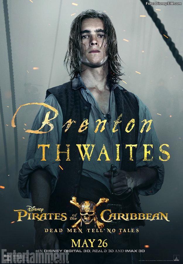 Brenton Thwaites será Henry Turner, el hijo de Will y Elizabeth