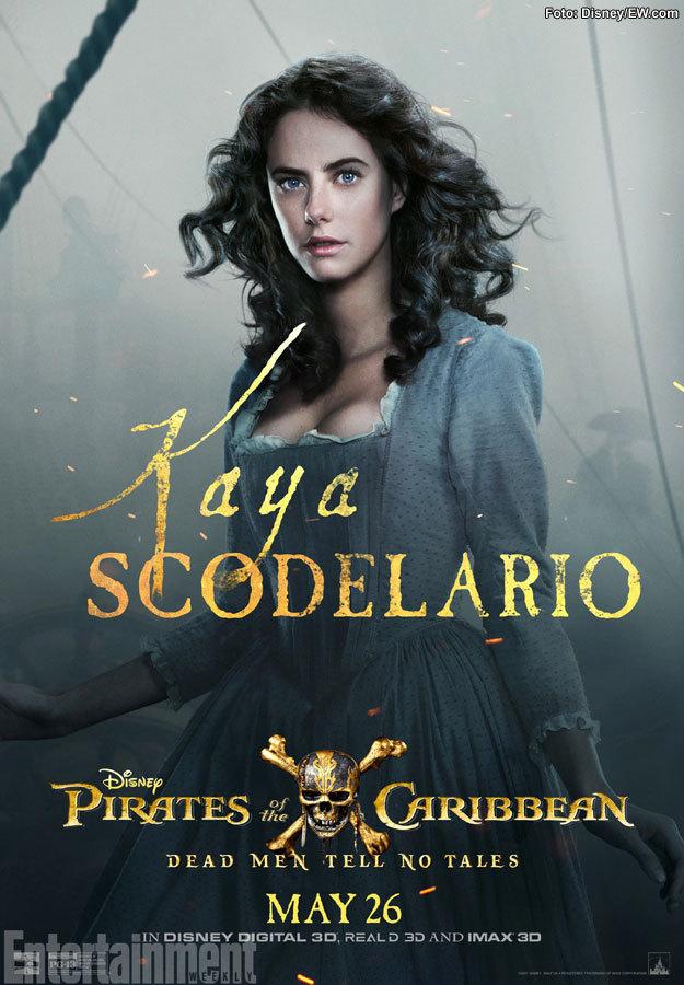 Kaya Scodelario como Carina caerá rendida a los pies de Henry Turner
